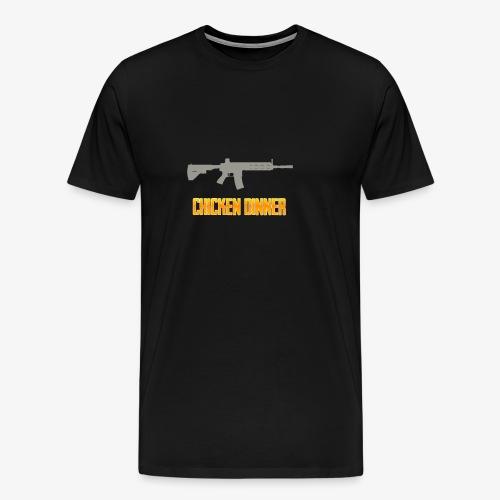 416 chicken dinner - PUBG Battlegrounds - Men's Premium T-Shirt