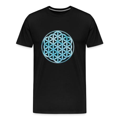 Flower of Life - Sacred Geometry - Men's Premium T-Shirt