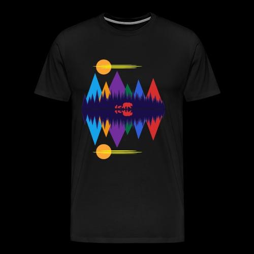 Bear and Cubs - Men's Premium T-Shirt