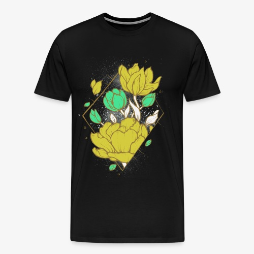 Floral harmony - Men's Premium T-Shirt