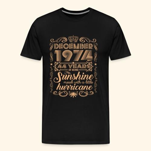 December 1992 26 Years Of Being Sunshine Hurricane - Men's Premium T-Shirt