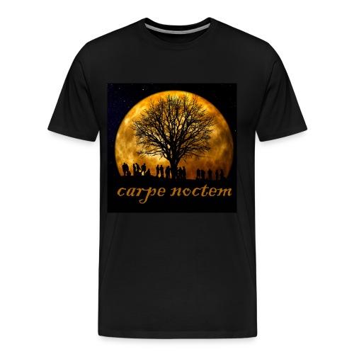 carpe noctem - use the night - Men's Premium T-Shirt