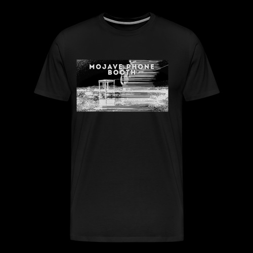 mojave phone booth - Men's Premium T-Shirt
