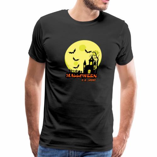 halloween-house - Men's Premium T-Shirt