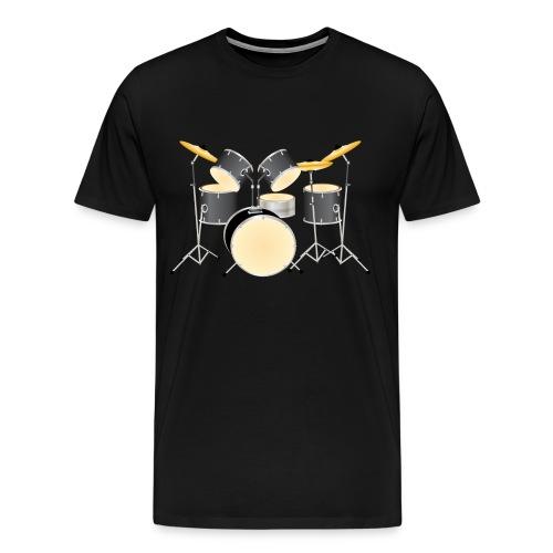 Drum Kit - Men's Premium T-Shirt