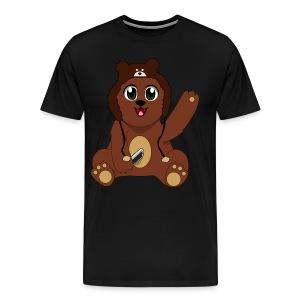 Nathan Piland Bear - Men's Premium T-Shirt