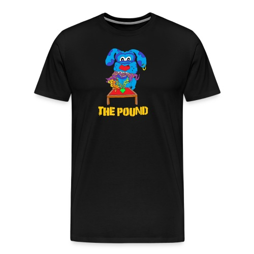 Food Chain at The Pound - Men's Premium T-Shirt