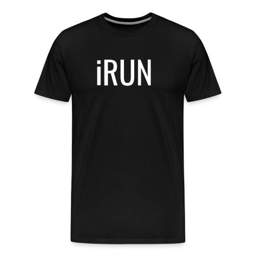 iRUN Quote Shirt - Men's Premium T-Shirt