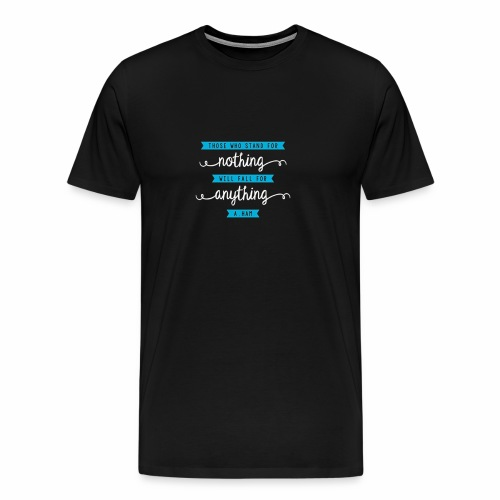 Alexander Hamilton Quote Tee - Lightweight - Men's Premium T-Shirt