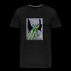 King Gatsby's Holiday retina lazers - Men's Premium T-Shirt