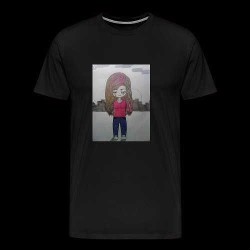 Heart break and loneliness - Men's Premium T-Shirt