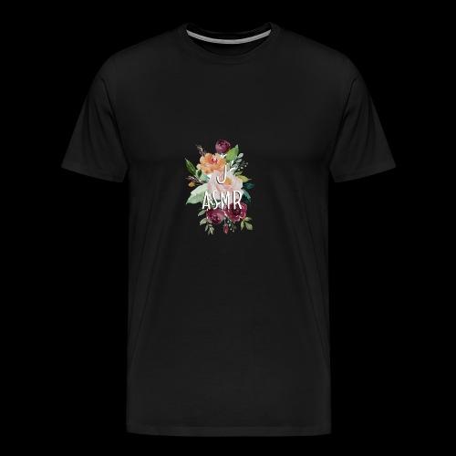 J ASMR Floral - Men's Premium T-Shirt