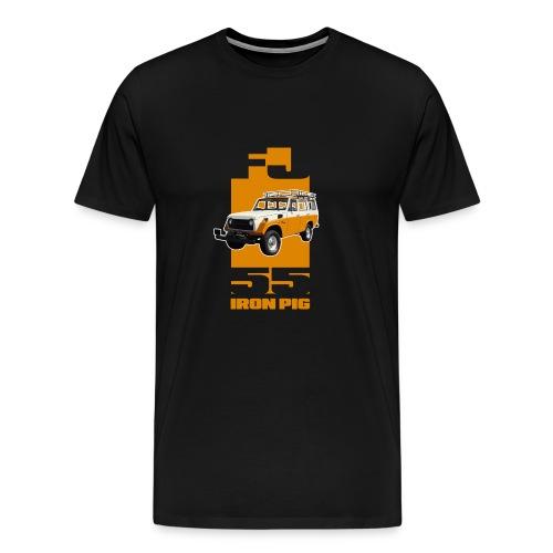 YELLOW FJ55 IRON PIG - Men's Premium T-Shirt