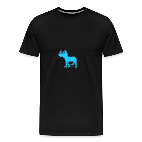 The Diamond Rhino - Men's Premium T-Shirt