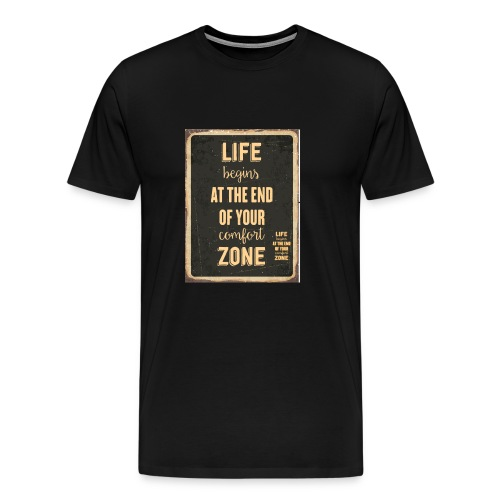 kiss your life - Men's Premium T-Shirt
