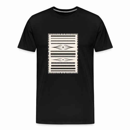 Vintage Pattern - Men's Premium T-Shirt