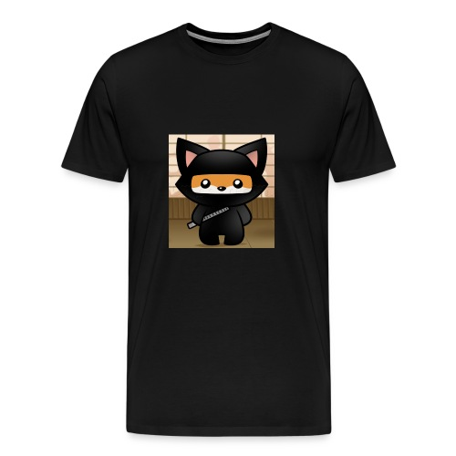 how-to-draw-a-ninja-fox_1_000000018972_5 - Men's Premium T-Shirt