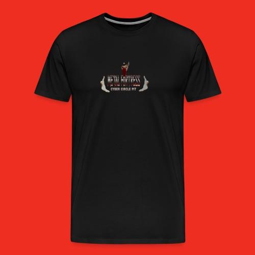 Metal Geezer Pic - Men's Premium T-Shirt