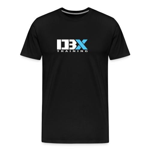 DB X Training logo white - Men's Premium T-Shirt