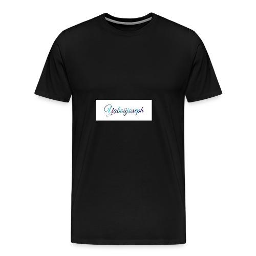 Yaboiijoseph - Men's Premium T-Shirt