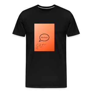 """Saying"" - Men's Premium T-Shirt"