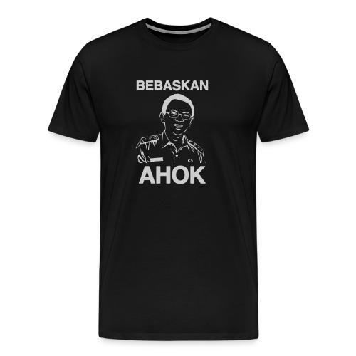 Bebaskan Ahok Black - Men's Premium T-Shirt