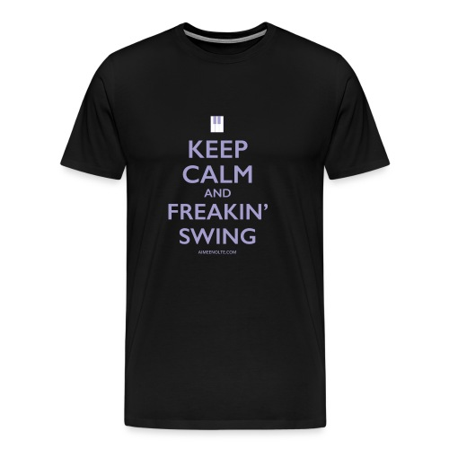 Freaking Swing Violet - Men's Premium T-Shirt