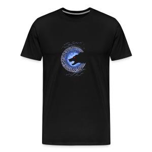 Fenrir Norse Wolf - Men's Premium T-Shirt