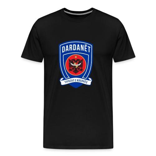 The Dardanët football crest - Men's Premium T-Shirt