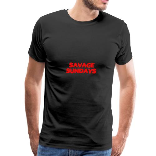 Savage Sundays - Men's Premium T-Shirt