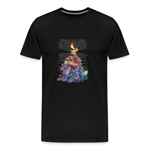 Answer to the Question Dragons - Men's Premium T-Shirt