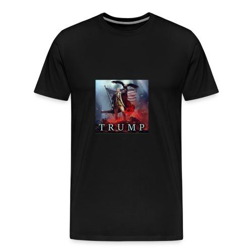 Trump MAGA fight against evil - Men's Premium T-Shirt
