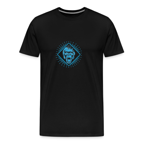 Crazy monkey - Men's Premium T-Shirt
