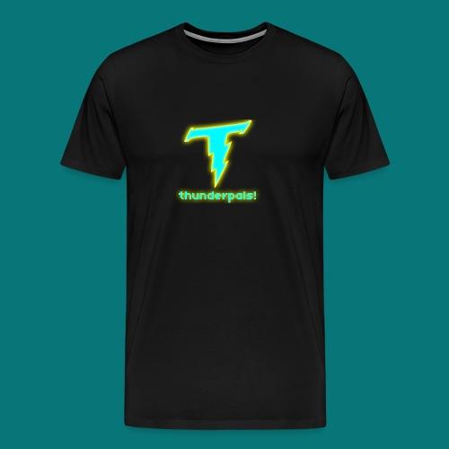 Thunder Pals Logo And Text - Men's Premium T-Shirt