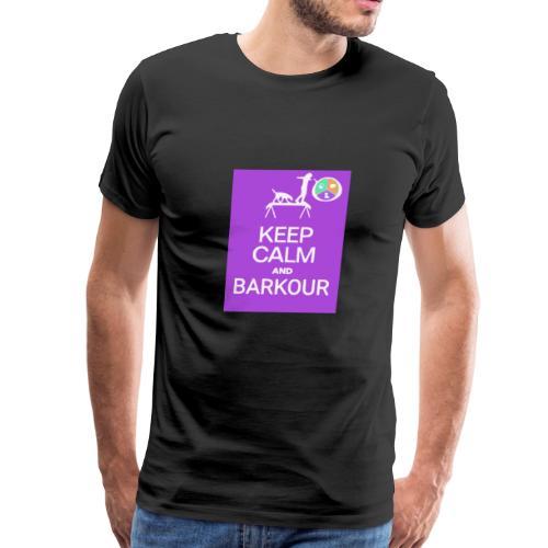 Keep Calm - Barkour - TSD - Men's Premium T-Shirt