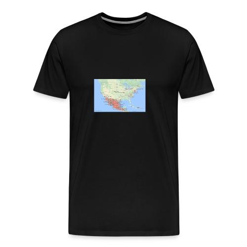 Taco_map - Men's Premium T-Shirt