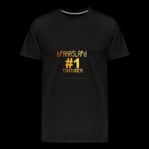bPANASLAPd back of gold edition - Men's Premium T-Shirt