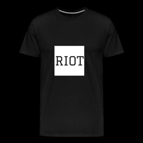 Riot Tee - Men's Premium T-Shirt