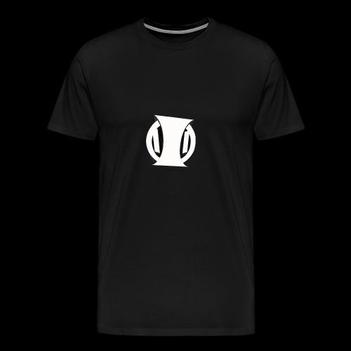 White Identity Logo - Men's Premium T-Shirt