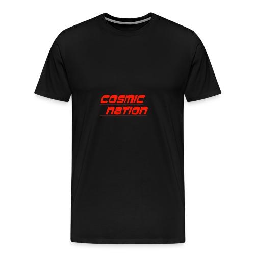 Cosmic Nation Logo - Men's Premium T-Shirt