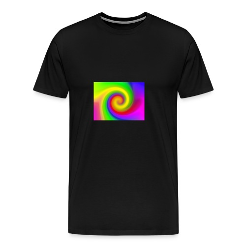 color swirl - Men's Premium T-Shirt