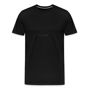 Depression///Rain - Men's Premium T-Shirt