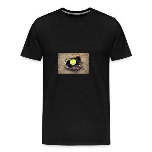 Softball hoddie - Men's Premium T-Shirt