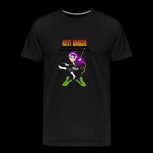 Kitty Danger Adventure - Men's Premium T-Shirt