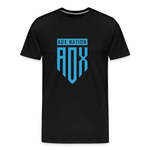 LOGO AOX AZUL - Men's Premium T-Shirt