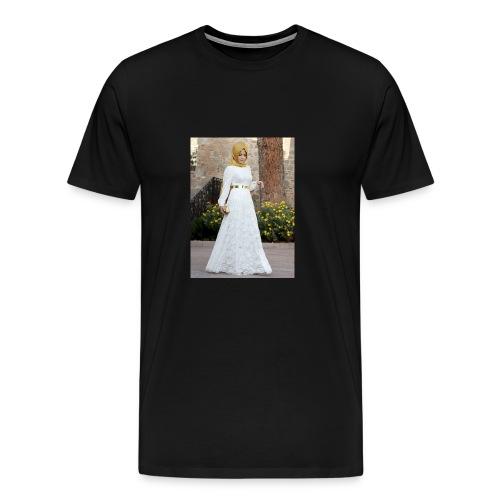 Muslim Hijab Girl - Men's Premium T-Shirt