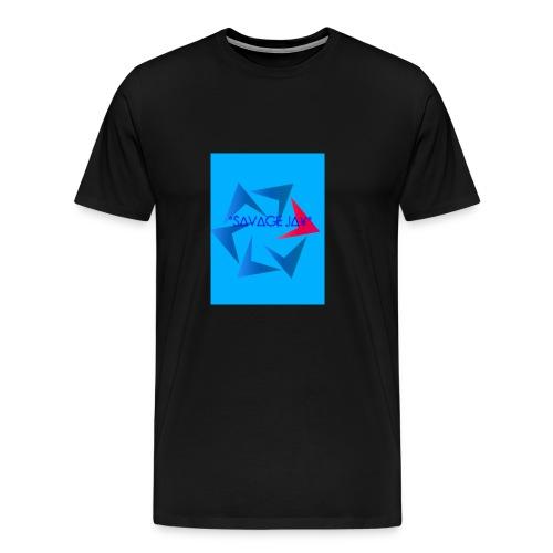 SAVAGE MERCH - Men's Premium T-Shirt