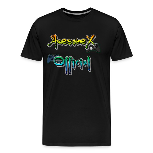 Official AwesomeX Logo Clothing - Men's Premium T-Shirt