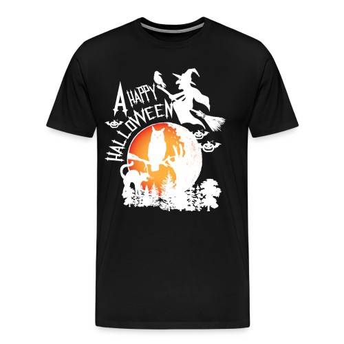 A Happy Halloween - Men's Premium T-Shirt