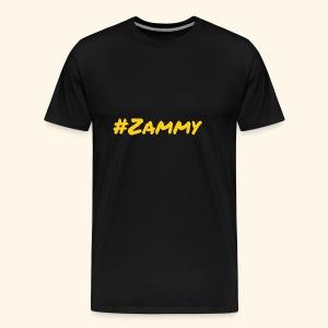 Gold #Zammy - Men's Premium T-Shirt